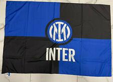 bandiera ufficiale FC INTER 100x140cm NUOVO LOGO 2021 CAMPIONI lukaku Bandierone