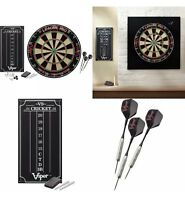 Viper LEAGUE PRO Dartboard Set Steel Tip Darts w Scoreboard REGULATION SIZE 18""