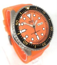 New Old Stock - Seiko SKX011K1 Automatic - Orange dial and strap