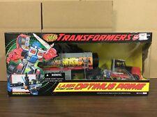 Transformers Laser Optimus Prime G2 Octane Trailer Classic NIB