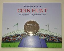 2012 LONDON OLYMPIC 50p Sports completezza Medaglione ALBUM MONETE Hunt