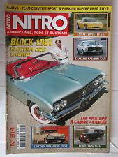 NITRO N° 214 /BUICK '61 ELECTRA 225 CAB/CORVETTE C6/LINCOLN PREMIERE '57/