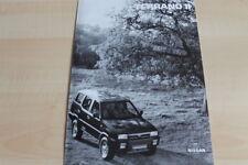 110452) Nissan Terrano II - technische Daten & Ausstattungen - Prospekt 06/1995
