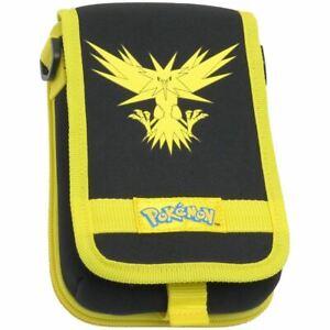 HORI New 3DS XL Legendary Pokemon Travel Pouch Zapdos Yellow