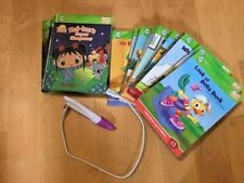 Leap Frog Tag Reader Books & Stylus Pen Interactive Reading System