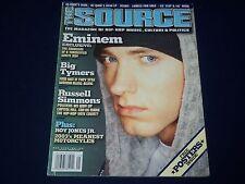 2002 MAY THE SOURCE MAGAZINE - EMINEM COVER - HIP HOP - RAP - K 482