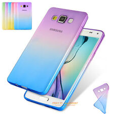 Ultra-thin Shockproof Crystal Clear Soft TPU Rubber Case Cover For Various Phone