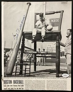 Ted Williams Signed Life Magazine Page 9/9/46 Page 53 Red Sox Autograph HOF JSA
