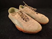 SUEDE PUMA SNEAKERS WOMENS SIZE 6 BROWN TAN
