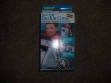 Seat belt buckle cover safety first new