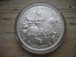 """Medaille Die deutschen Kaiser """"Maximilian I."""" - Silber"""
