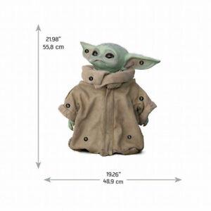 Wandsticker Kinder Baby Yoda Child Star Wars Mandalorian Wandtattoo Disney+
