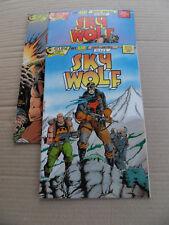 Sky Wolf 1 - 3 . Eclipse 1988 . VF - minus