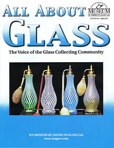 All About Glass 19-1:Fenton-DeVilbiss atomizers, Opal night lamps, Bottles, More