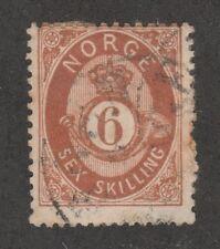 Kappysstamps 5966 Norway Scott 20 Used Catalog = $50