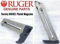 RUGER Mark 4 Nickel 90599 22/45 Magazine MK4 10 round MK 2 3 II lll IV MKlll