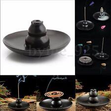 Incense Burner Buddhism Ceramic Gourd Holder Censer For Cones Coil Sticks