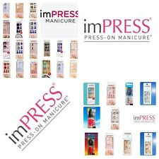 Kiss imPress Press-On Pedicure Nails Over 38 Designs to Choose From New Added!