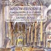 Anton Bruckner: Symphony No. 8 In C Minor MUSIC AUDIO CD Lionel Rogg w/ Artwork