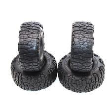 "4Pcs 1:10 RC Rock Crawler 1.9"" 123mm Rubber Tires Tyre ForSCX10 90046 D90 TRX4"