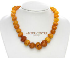 Antique German Butterscotch Baltic Amber Necklace 50grams - A0148 - RRP£1995!!!