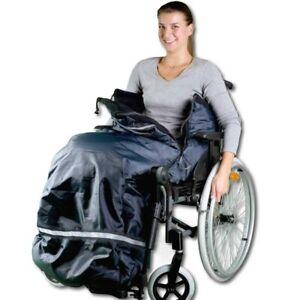 ROLKO Thermo Schlumpfsack Rollstuhl Elektro Elektromobil Beindecke Größe XXL
