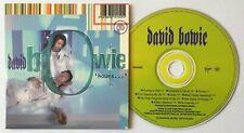 David Bowie  Hours   1999 UK Promo 10 Track Promo CD