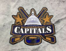 """WASHINGTON CAPITALS Huge High Quality Embroidered Patch 11""""x10"""""""