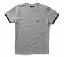 DR. MARTENS UNISEX Core Pocket T-Shirt, Grey Marl, XS