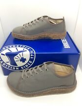 BIRKENSTOCK Womens Santa Cruz Gray Canvas Sneakers Shoes Sz 7 EU38 N ZB6-1002