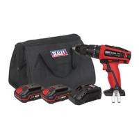 Sealey Hammer Drill / Driver Kit Ø13mm 20V - 2 Batteries CP20VDDKIT