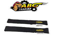 Smittybilt For Adjustable Black Door Strap Limiter Jeep Wrangler PAIR- SMI769401