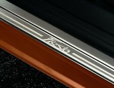 Original Ford Fiesta VI 5-Türer Edelstahl Einstiegsleisten 2 Teilig vorn 1531353