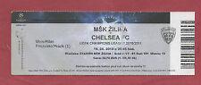 Orig.Ticket Champions League 10/11 MSK ZILINA - CHELSEA FC RARO