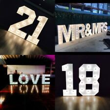 Marquee Large Light Up Letters for 'HIRE' Love Giant Engagement Wedding Function