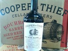 Cooper and Thief Bourbon Barreled Red Blend will Steal your Heart!   *6 BOTTLES*