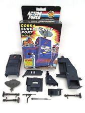 GI Joe Action Force ☆ COBRA surveillance après PORT ☆ Vintage Hasbro Toy de 1986 en boîte