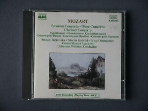 CD Mozart, Vienna Mozart Academy: Bassoon  / Oboe / Clarinet Concerto