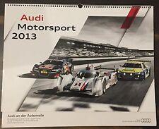 Audi Sport Motorsport Kalender 2013 S-Line