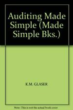 Glaser, K.M., Auditing Made Simple (Made Simple Books), Very Good, Paperback