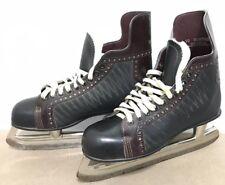 Mens American Wildcat Hockey Ice Skates Size 10 Style National Pro Model Canada