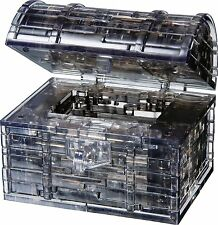 3D Crystal Puzzle Treasure Chest , New, Free Shipping