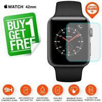 2x Genuine TEMPERED GLASS Screen Protector Apple Watch Series 1 2 3 42mm iWatch