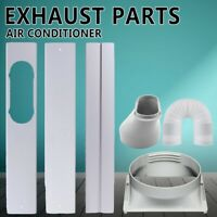 Window Adaptor +3PCS Kit Plate + Exhaust Hose/Tube For Portable Air Conditioner