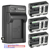 Kastar Battery Wall Charger for Sony NP-FM500H & Alpha ¦Á77II a77 II SLT-A77 II