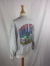 Vtg 1992 World Series Sweatshirt XL Toronto Blue Jays Atlanta Braves 90s MLB