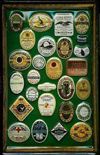 Guinness Framed Assorted Labels 1 Metal Pub Bar Irish Licensed Sign Vintage