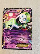 Meloetta ex Pokemon Card - RC11/RC25 Legendary Treasures Radiant Collection