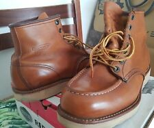 Red wing boots Tan size 9usa/8uk