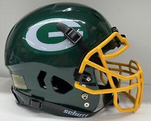 Green Bay Packers Custom Full Size Authentic Schutt Vengeance Football Helmet